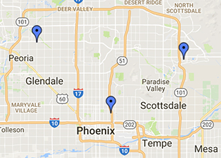 Arizona Heart and Lung Surgery Directions